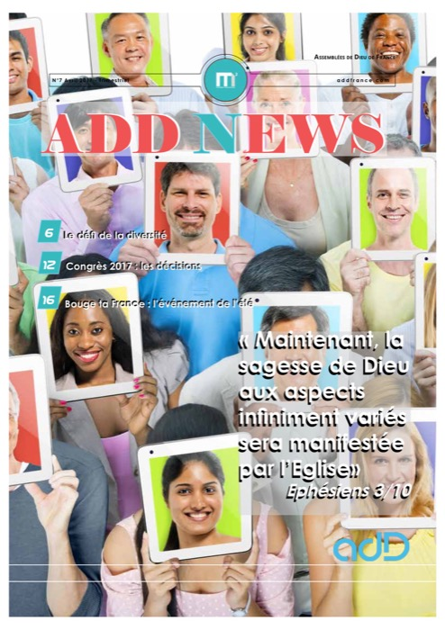 NEWSLETTER DES ADD